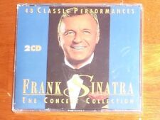 """""""STILL SEALED"""" 2 x CD's by FRANK SINATRA """"THE CONCERT COLLECTION"""" / PLATCD 3945"""