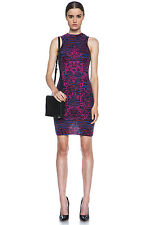 Purple Missoni Intarsia Mock Tank Dress Size 44 IT