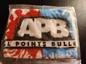 APB: All Points Bulletin T-Shirt Size L