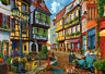 500 Pieces Jigsaw Puzzle Cobbled Alley - Brand New & Sealed