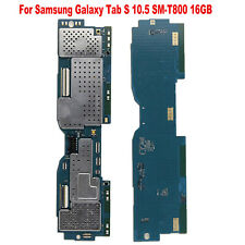 Unlocked Motherboard Replace For Samsung Galaxy Tab S 10.5 SM-T800 16GB Tablet