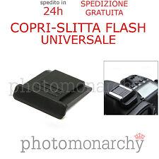 COPRI SLITTA FLASH protezione universale hot-shoe per NIKON D3300 D5000 D5100