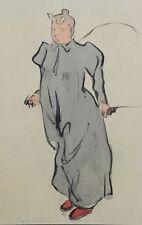 Jacques VILLON (d'après) -  Tante Ketty - Croquis signé  #1959