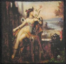 Printed Sew On Patch - CLEOPATRA DETAIL - Gustav Moreau 1826-1898