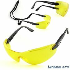 Lunettes de Protection Bollé Safety VIPER jaune Tir Airsoft Moto VIPPSJ