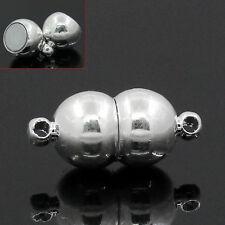 Großverkauf Silberfarbe Rund Verschluss Verbinder für Druckknopf Click Buttons