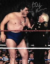 Bobby Heenan Signed 8x10 Photo BAS Beckett COA WWE Picture w/ Andre the Giant
