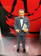Mint BOXED 007 JAMES BOND M CORGI TOYS ICON Figure Metal Diecast Connery Moore