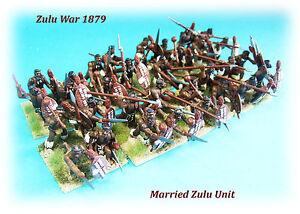 Zulu War 1879 - Married Zulu Unit x 32