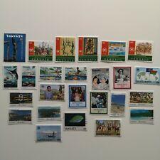 200 Different Vanuatu Stamp Collection