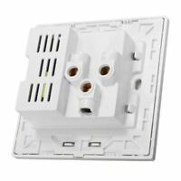N4V2 2.1A Dual USB Wall Charger Socket Adapter Universial Power Outlet Panel wit