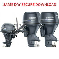 Yamaha Outboard Motor Service Manual (100 115 130 140) | 1999-2006  FAST ACCESS
