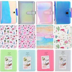 "3"" 20/64/96 Pockets Colorful Photo Book Album For Fujifilm Instax Mini Photos GM"