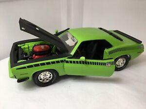 Ertl American Muscle 1970 Plymouth Cuda Green