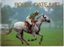 Rolex Datejust booklet Broschüre - Deutsch 8.1989 - NOS