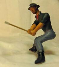 LUMBERJACK AXE MAN NUMBER 7 G F 1:20.3 Model Railroad Painted Figure FGGLOG13A