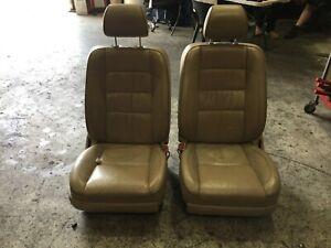 Lexus GS300 leather front seats 2002 JZS160