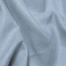 Light Blue 100% Linen Fabric By the Yard