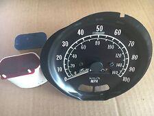 1973-79 Trans Am 100 MPH Speedometer (Yellow-Green km/h Line) SE WS6 W72 Formula