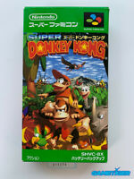 SUPER DONKEY KONG Nintendo Super Famicom SFC SNES JAPAN Ref:311274
