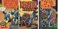 Megaton Man 2 Feb 85 - 4 June 85 - 5 Aug 85 Don Simpson Kitchen Sink Comix Press