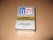 PGA Tour Golf 1990 Special Inaugural Trading Card Set