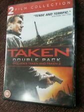 Taken / Taken 2 Double Pack DVD (2013) Liam Neeson
