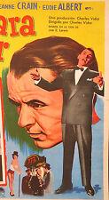 THE JOKER IS WILD FRANK SINATRA JEANNE CRAINE LOBBY CARD MEXICAN 1957