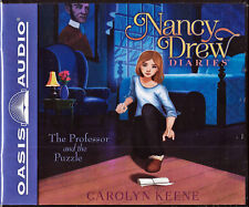 NEW Nancy Drew Diaries The Professor and the Puzzle Carolyn Keene Audio Book 15