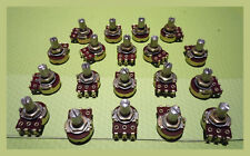 19 Pieces 5k Panel Mount Linear Taper Potentiometers