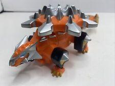 Power Rangers Dino Thunder Orange Ankylozord Megazord 2003 Bandai Dinozord Zord