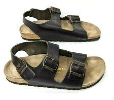 Birkenstock Milano Brown Leather Slingback Sandal Womens 10-10.5 EUR 41 Narrow