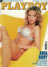 Playboy 11/1997 November, CARMEN ELECTRA, Ania Rudy, PATRICIA BOLOGNINI, GUTER Z