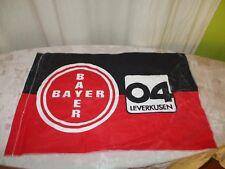 """Bayer 04 Leverkusen Originale kleine Fahne/Flagge 70iger Jahre """"BAYER Wappen"""""""