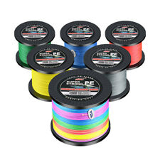 10-198LB Super Strong 1000M/1094Yards 4 Strands PE Braided Seawater Fishing Line