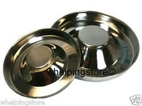 Weaning Whelping Store © Saucer Bowl 29cm or 38cm Puppy Dog Stainless Steel
