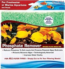 """PENN PLAX CASCADE PHOSPHATE REMOVER FILTER PAD. 10"""" X 18"""" CUT YOUR OWN"""
