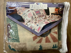 Jubilee100 cotton flannel sheets Set Full Size Yosemite Print