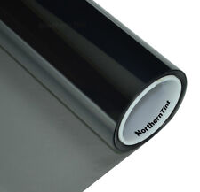"36""x100' Window Tint Roll 35% vlt Moderate Dark 1ply Ch. Black NR Car Tint Film"