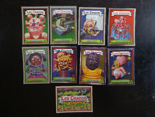lot de 9 cartes crados album 3 Garbage Pail Kids from France French