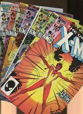 Uncanny X-Men 199, 200,202,203,204,205,206 * 7  * 1st Rachel Summers as Phoenix!