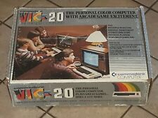 ORIGINAL Commodore Vic 20 Computer video game system  empty Box only VINTAGE
