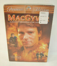 New listing Macgyver Always Prepared For Adventure Complete First Season Dvd New Movie Set