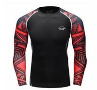 J07 Men/'s Compression Tight Long Sleeve Black Spandex Fetish Athletic Apparel