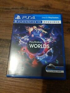 Playstation VR Worlds Game PS4 PlayStation 4