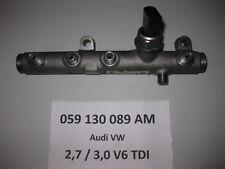 VW Touareq 7P 3,0 TDI V6 Druckrohr Kraftstoffverteiler Drucksensor 059130089AM