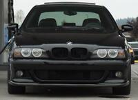Front Bumper spoiler lip for BMW E39 Chin CSL M Sport Power Valance Skirt addon