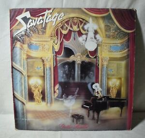Vintage Vinyl LP Savatage-Gutter Ballet 33RPM Atlantic782 008-1