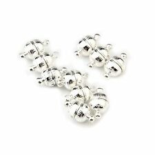 10 X 8MM Silver Tone Jewelry Necklace Magnetic Clasp HOT HY