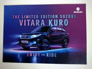 SUZUKI VITARA KURO Limited Edition 1.6 Petrol Brochure January 2018